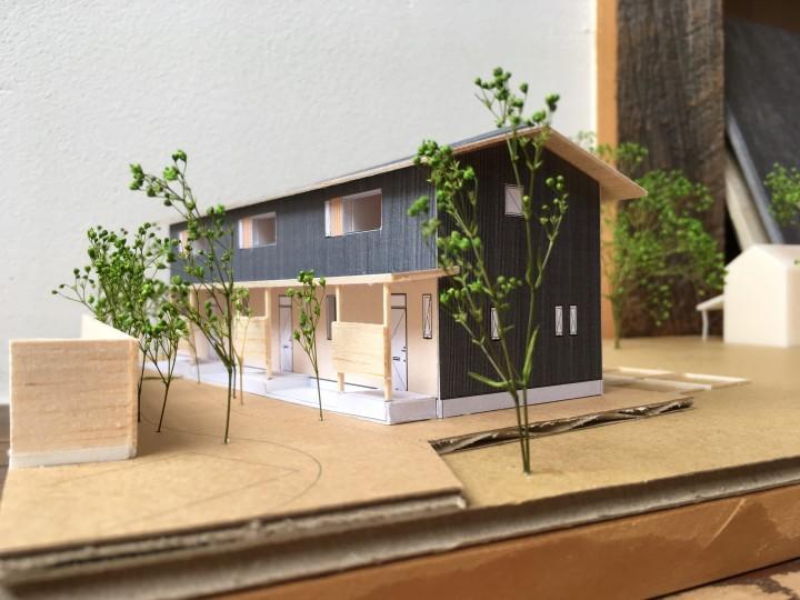 だんだんハウス模型