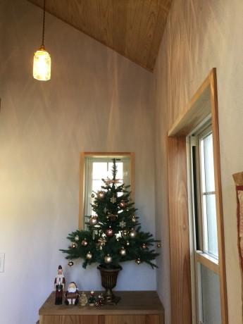 クリスマスな玄関