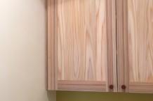無垢の家具・しっくい・カラークロス