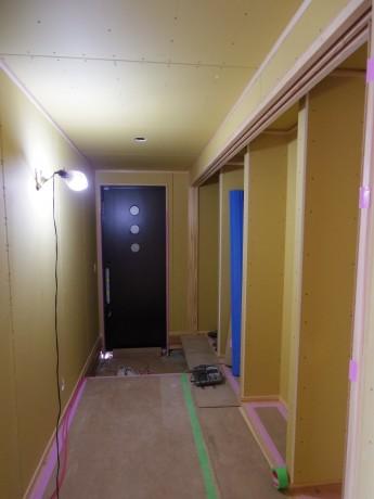現場確認廊下