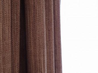 手紬オーガニックコットンのカーテン