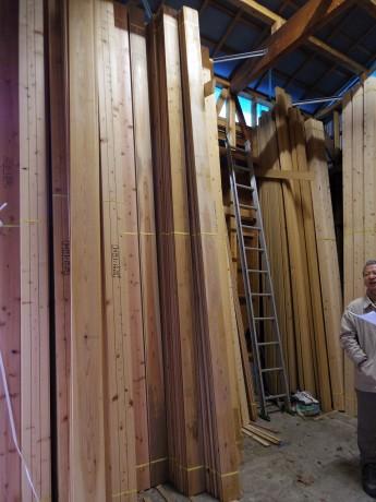 伊豆の材木屋さん