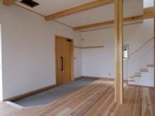 玄関土間 木製建具