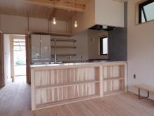 オーダー 木製キッチン