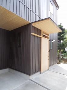無垢木製 桧 玄関扉