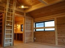 板倉壁の寝室2