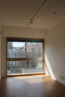 大きな窓のある賃貸居室