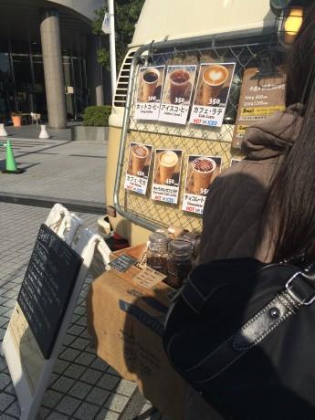 移動式カフェ