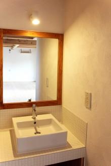 1階の洗面コーナー