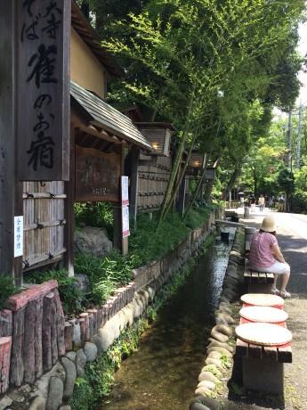深大寺の蕎麦屋