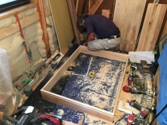 木質化工事
