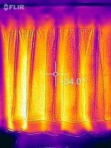 カーテンの温度