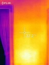外壁の温度