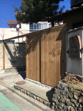 事務所門扉