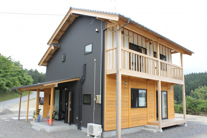 自然素材 復興住宅
