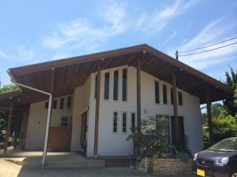 大屋根平屋の家
