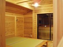 板倉壁の寝室1