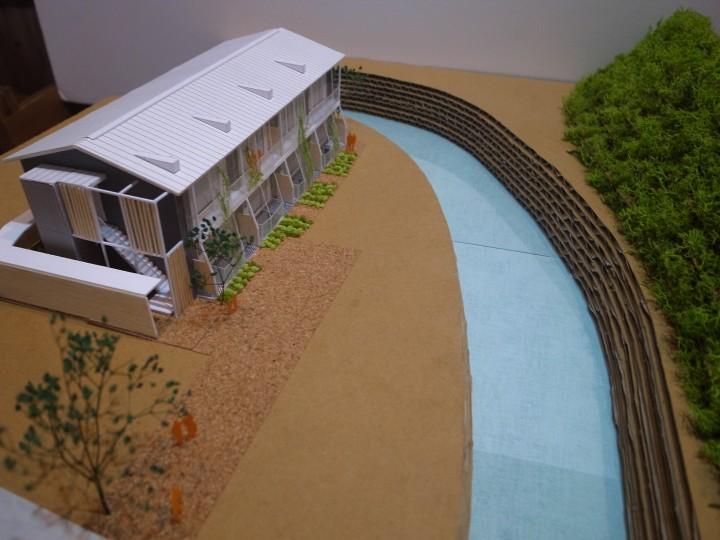 エコヴィレッジ鎌倉雪ノ下全体模型
