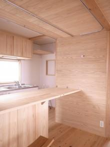 拡張性のある折り畳み式キッチンカウンター