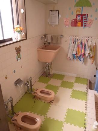 既存幼児用トイレ