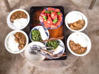 柳田ファームの豚肉入りカレー