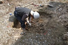 埋蔵文化財試掘調査1