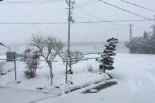 故郷の雪景色