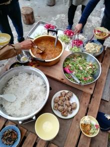 鶏と秋野菜のカレー